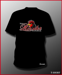 MAD ROOSTER Logo T-Shirt black