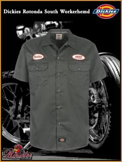 DICKIES Workerhemd Rotonda South grey