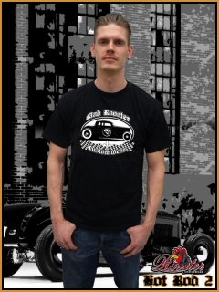 MAD ROOSTER Hot Rod II T-Shirt black