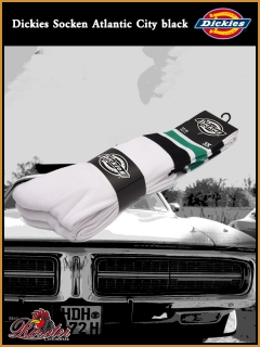 DICKIES Socken Atlantic City black