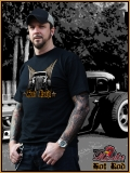 MAD ROOSTER HOT ROD I T-Shirt black