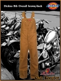 DICKIES Bib Latzhose brown/duck