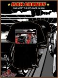 WILD WEST Hot Rod T-Shirt black