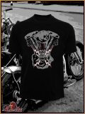 MAD ROOSTER Shovel T-Shirt black