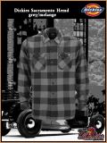 DICKIES Workerhemd Sacramento grey/melange