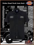DICKIES Workerhemd North Irvin black