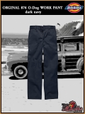 DICKIES O-Dog Work Pant Orginal 874 dark/navy