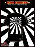 SUNBURST Hot Rod T-Shirt black